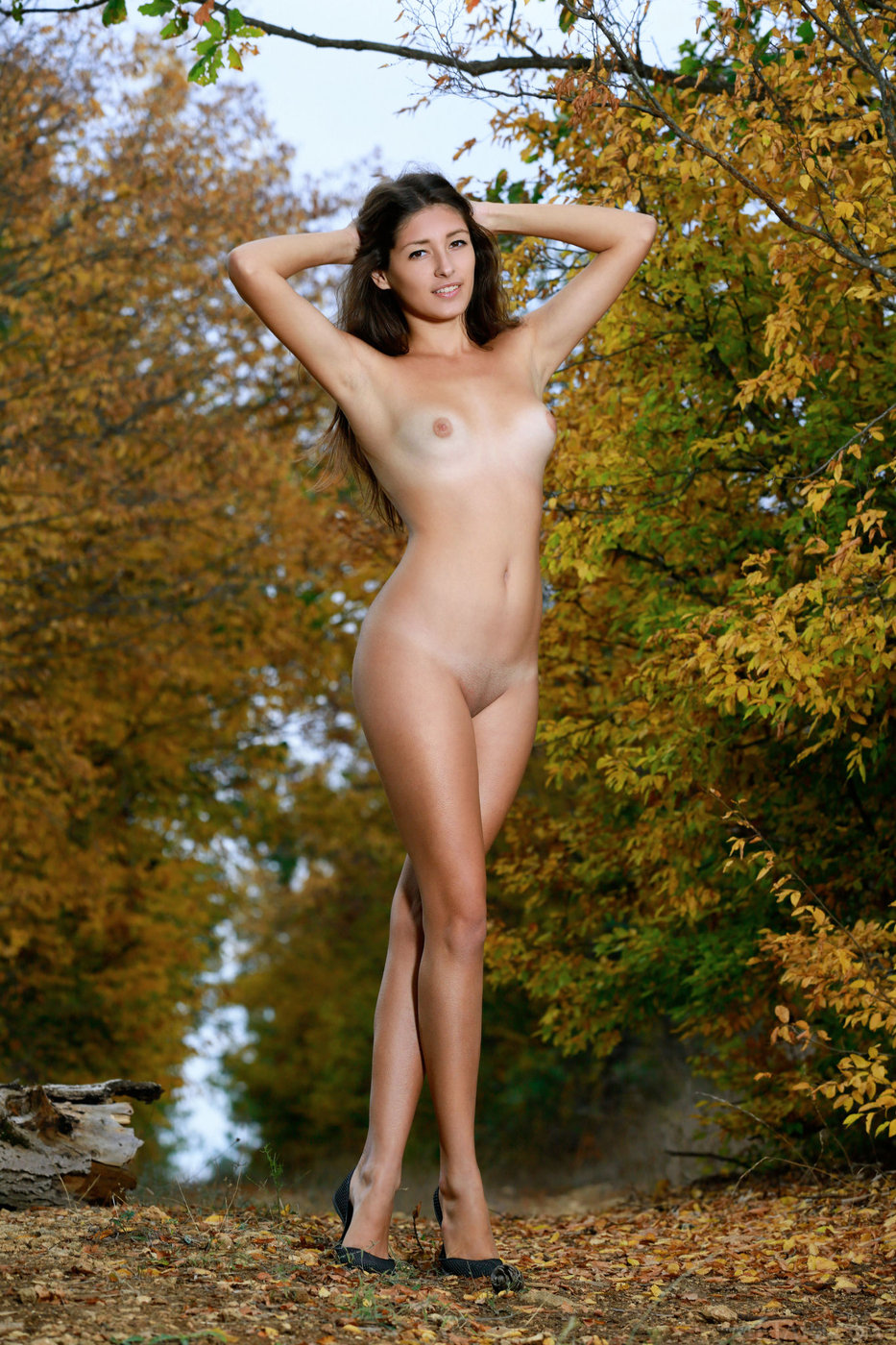 Congratulate, Dark haired naked women outdoors matchless