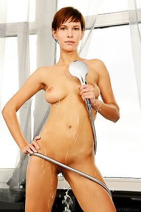 Short-haired and fairly ugly brunette showing her naked body Videos
