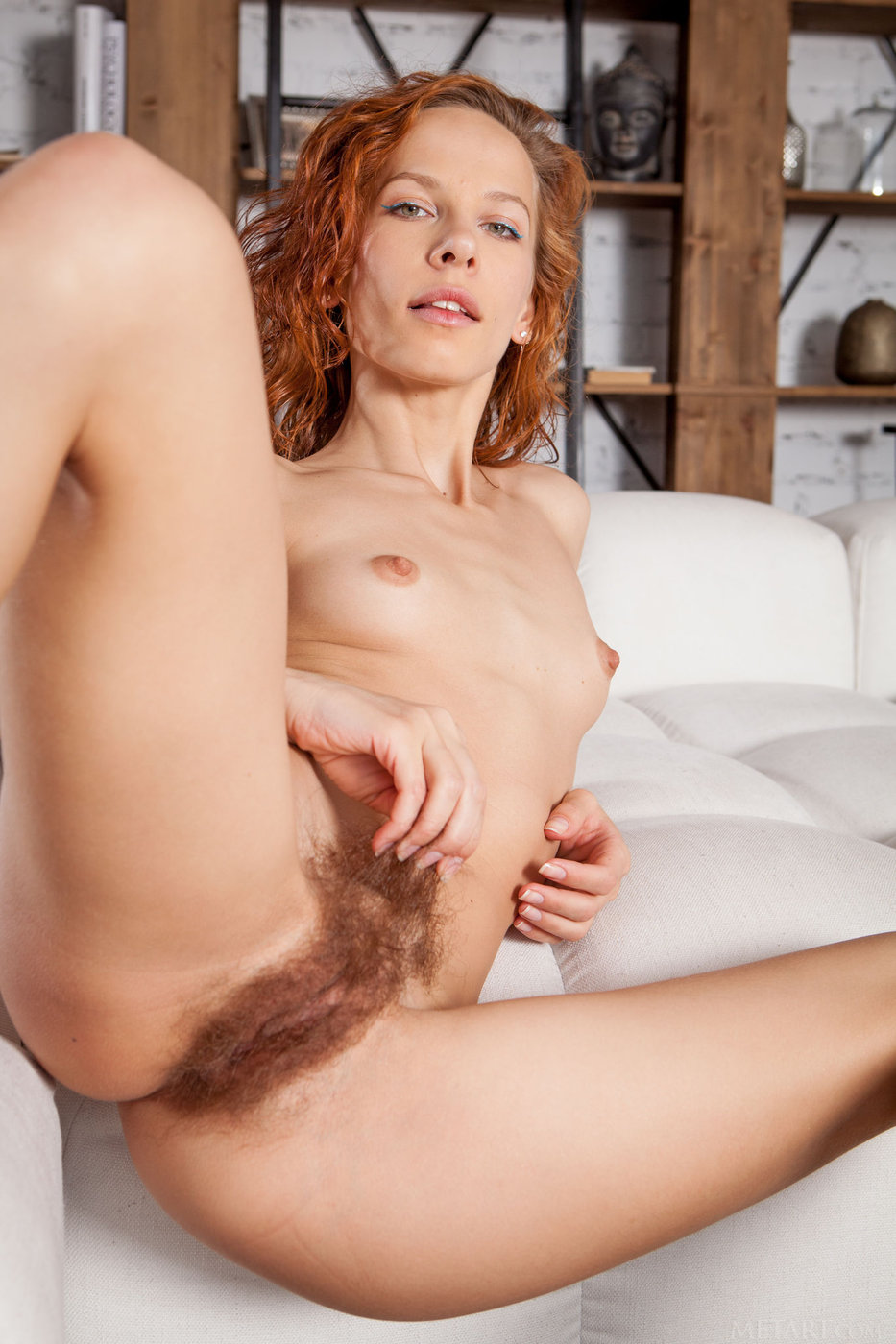 Hairy Ginger Nude