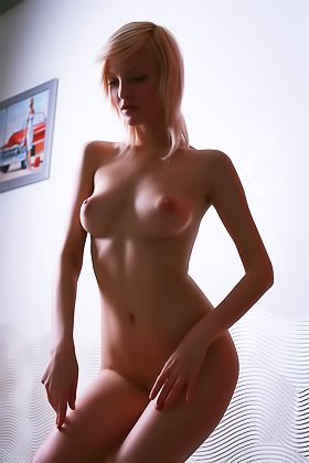 Sensual blonde with short hair teasing the viewer with her body Videos