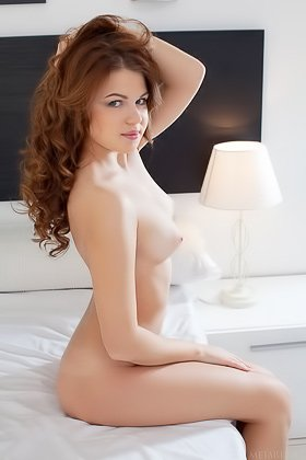 Redheaded young girl showing her succulent pussy up close here Videos
