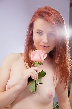 Redheaded girl setting up a romantic date with the man behind the cam Videos
