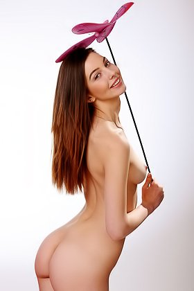 Very cute brunette starts off already naked, teases you a lot Videos