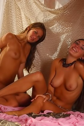 Two barely 18 beauties with great tan lines being extra kinky on camera Videos