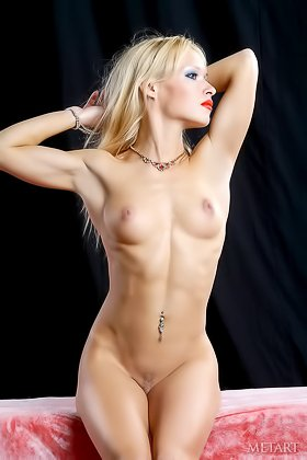 Leggy blonde in high heels showing her flawless body for the camera Videos