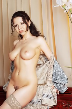 Stacked brunette undressing while looking extremely classy on cam Videos